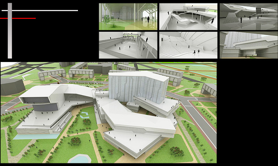 Abrahamfg arquitecto propuestas arquitectonicas for Accesos arquitectura