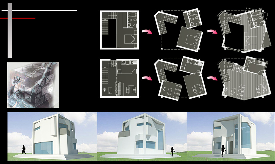 Architecture Proposal Cubic House - Architect in Madrid