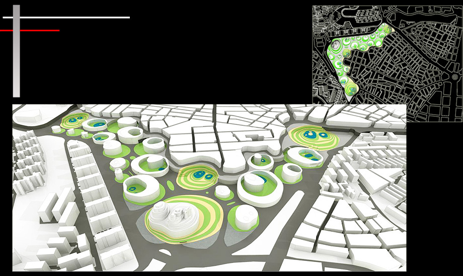 Architecture Proposal Organic Urban Planning - Architect in Madrid