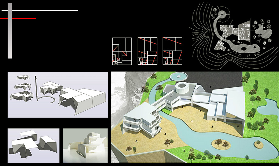 Architect Proposal Fractal House - Architect in Madrid