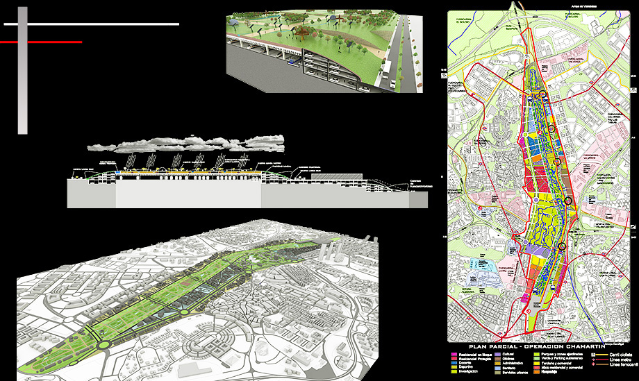 Architecture Proposal Urban Planning Chamartin - Architect in Madrid